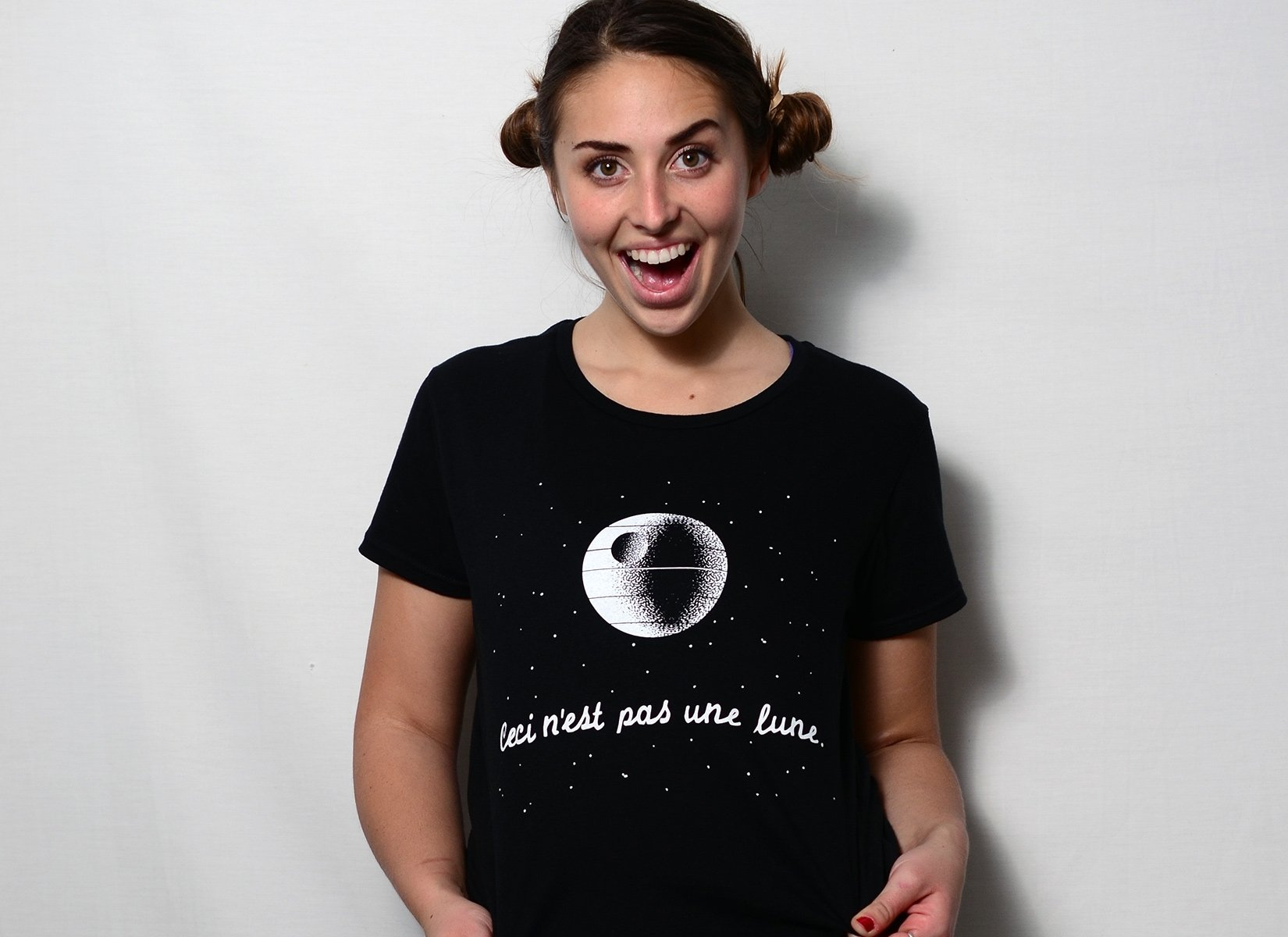 This Is Not A Moon on Womens T-Shirt