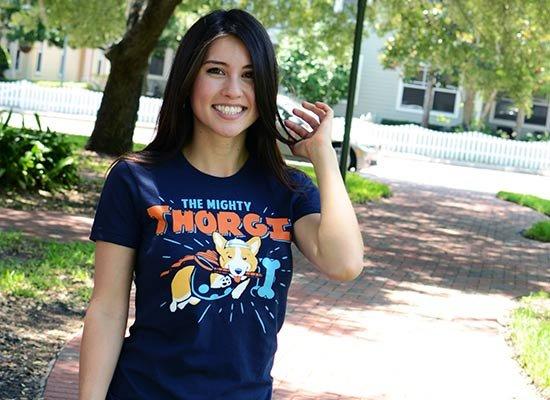 Thorgi on Juniors T-Shirt
