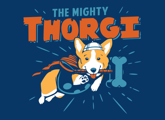 Thorgi on Mens T-Shirt