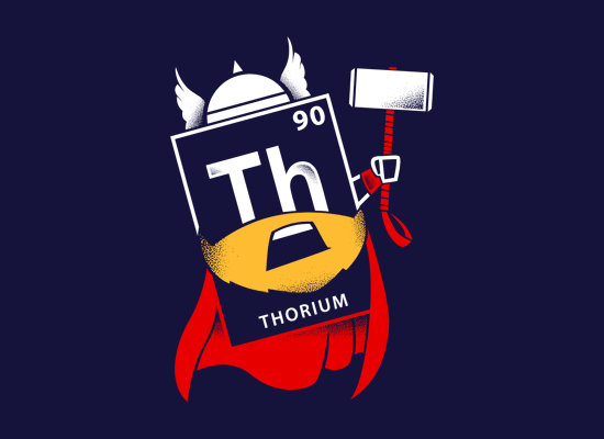 Thorium on Mens T-Shirt