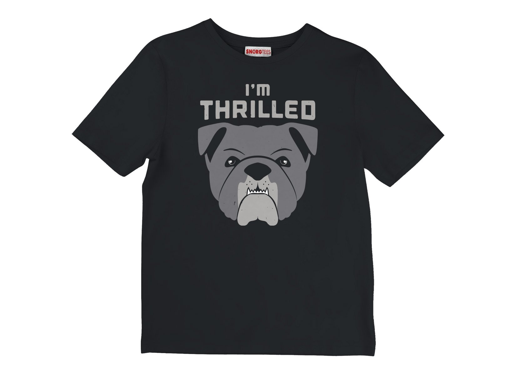 I'm Thrilled on Kids T-Shirt