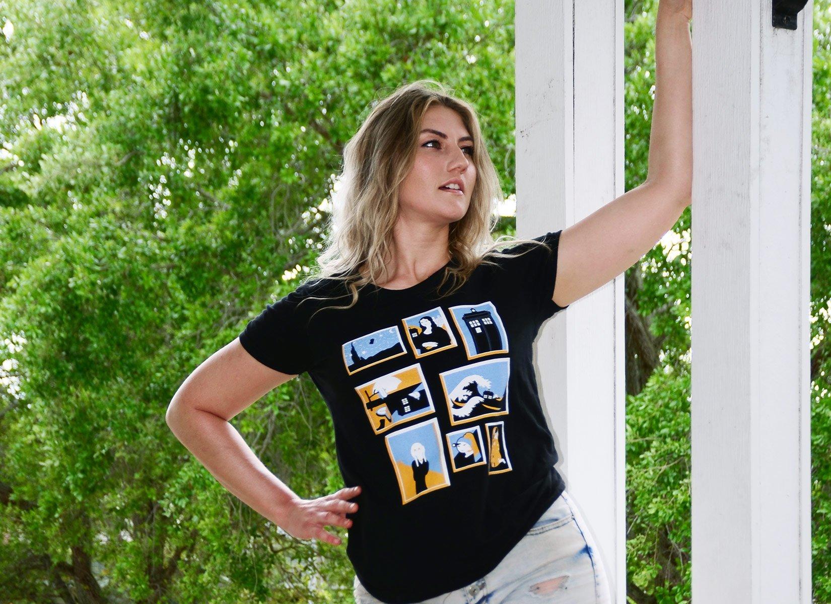 Timeless on Womens T-Shirt