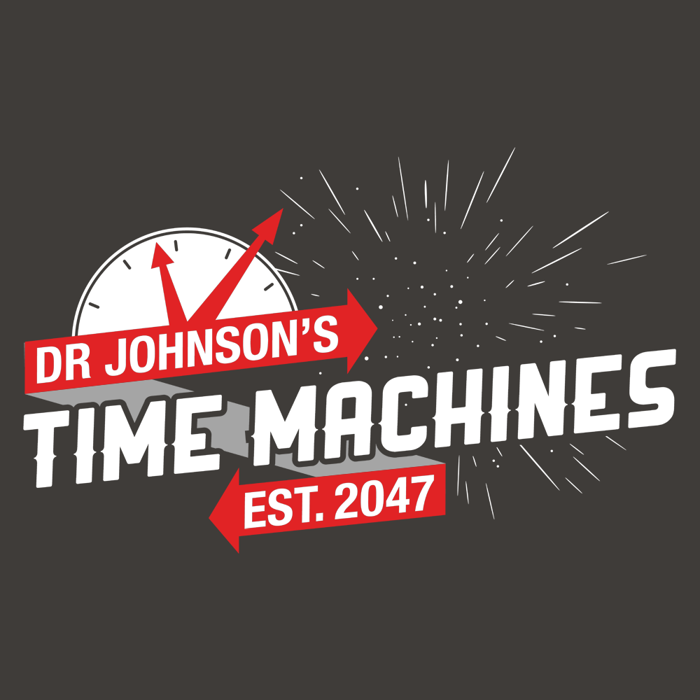 Graphic Design Machines For T Shirts | Dr Johnson S Time Machines T Shirt Snorgtees