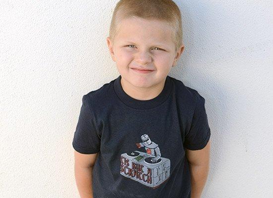Tis But A Scratch on Kids T-Shirt