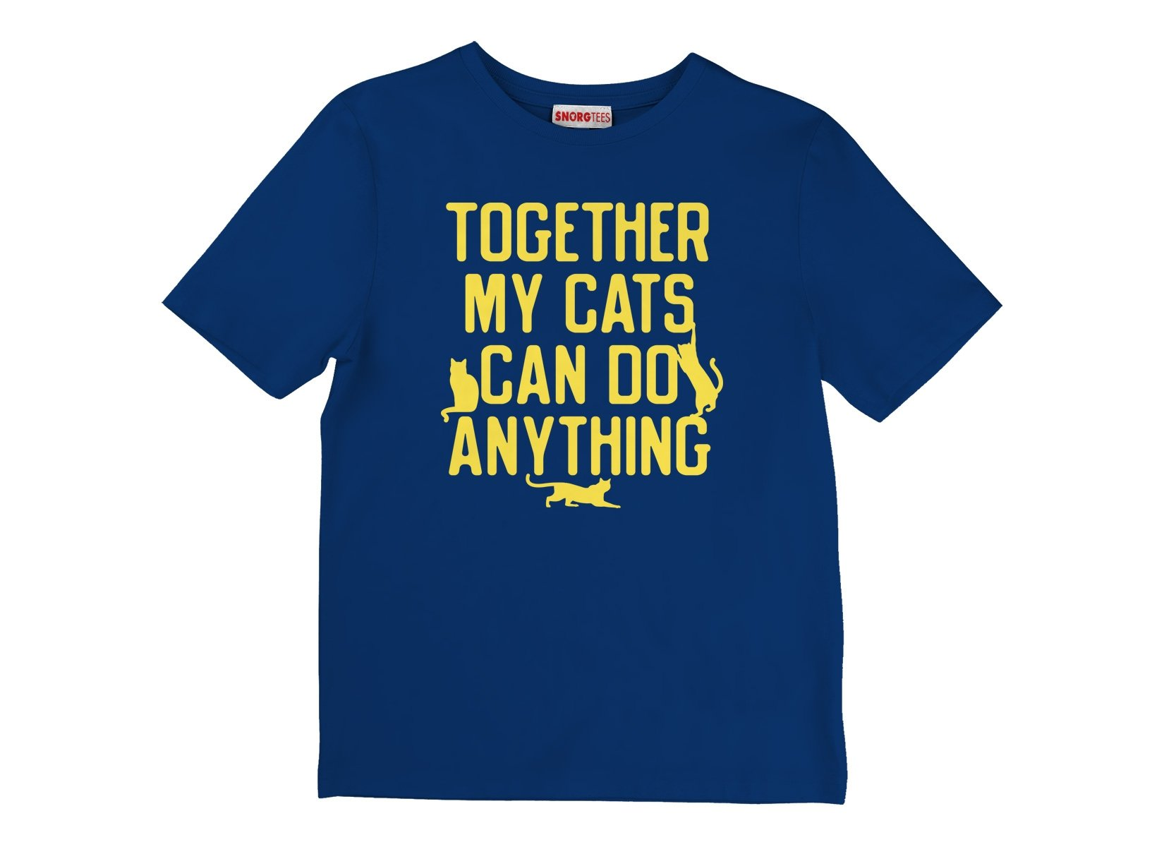 Together My Cats Can Do Anything on Kids T-Shirt