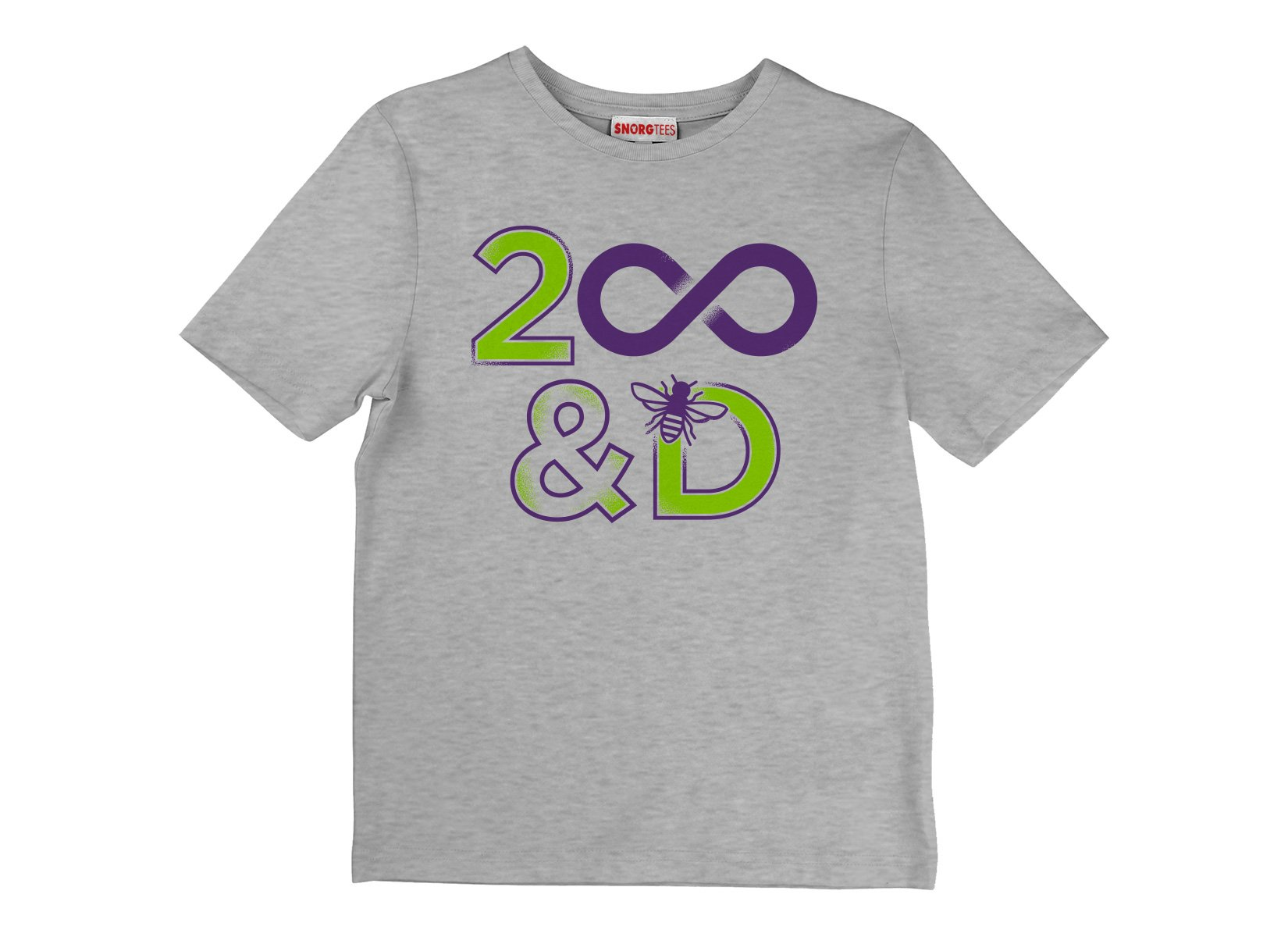 2 Infinity And B On D on Kids T-Shirt