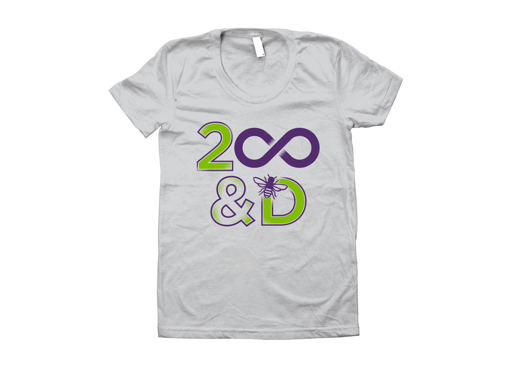 2 Infinity And B On D on Juniors T-Shirt