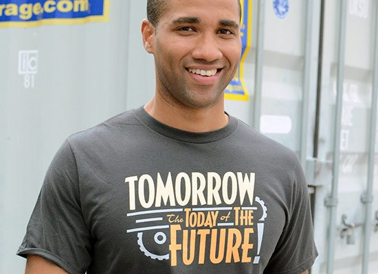 Tomorrow, The Today Of The Future on Mens T-Shirt