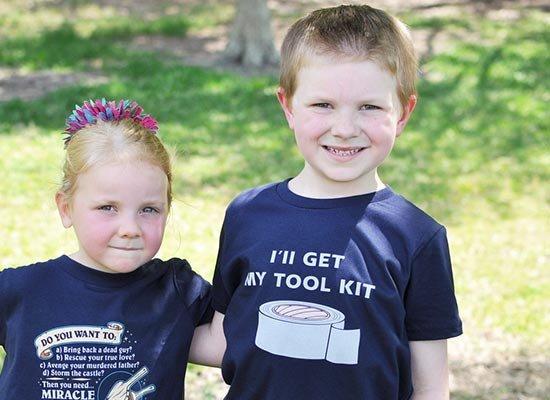 I'll Get My Tool Kit on Kids T-Shirt