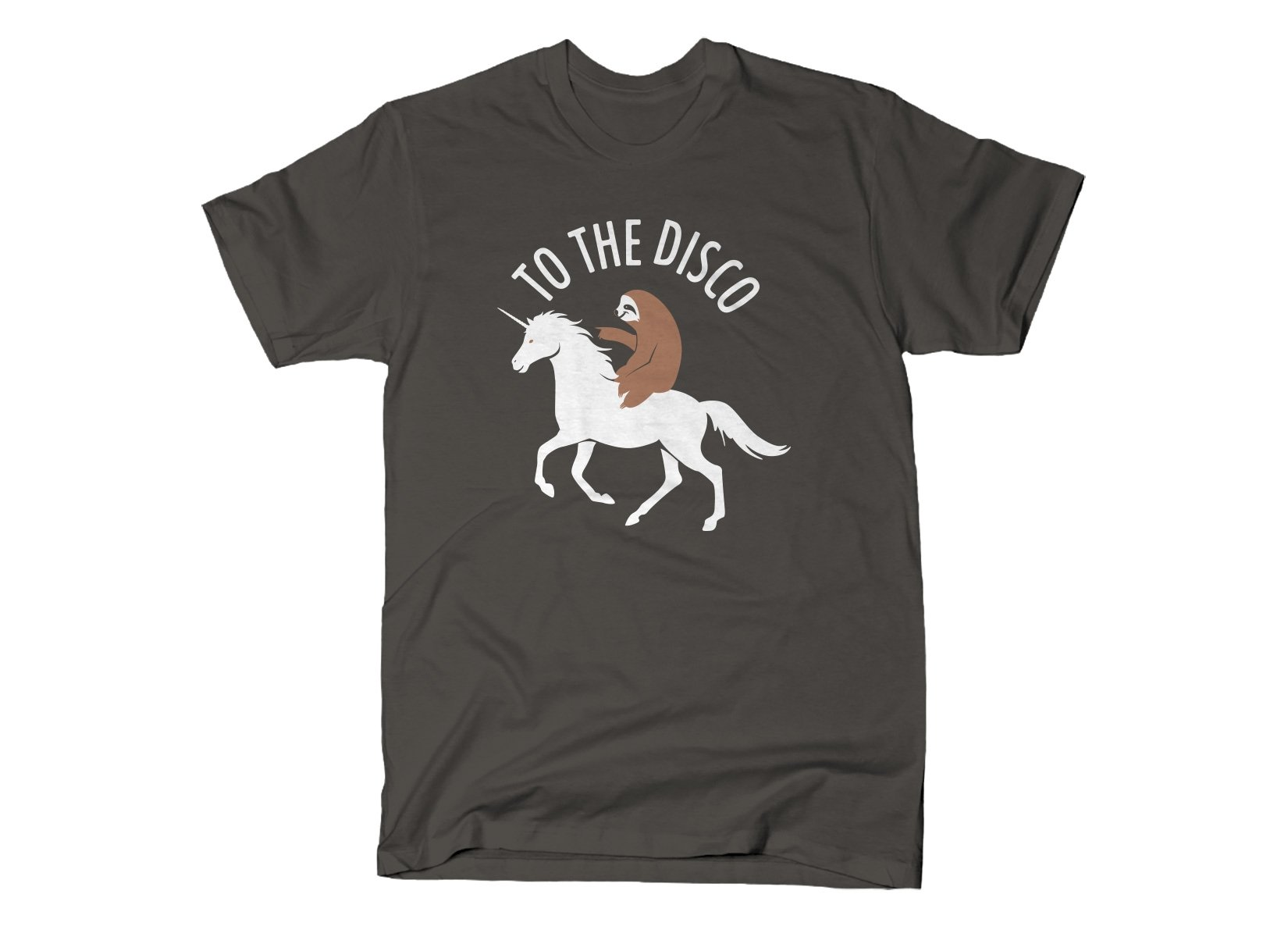 To The Disco on Mens T-Shirt