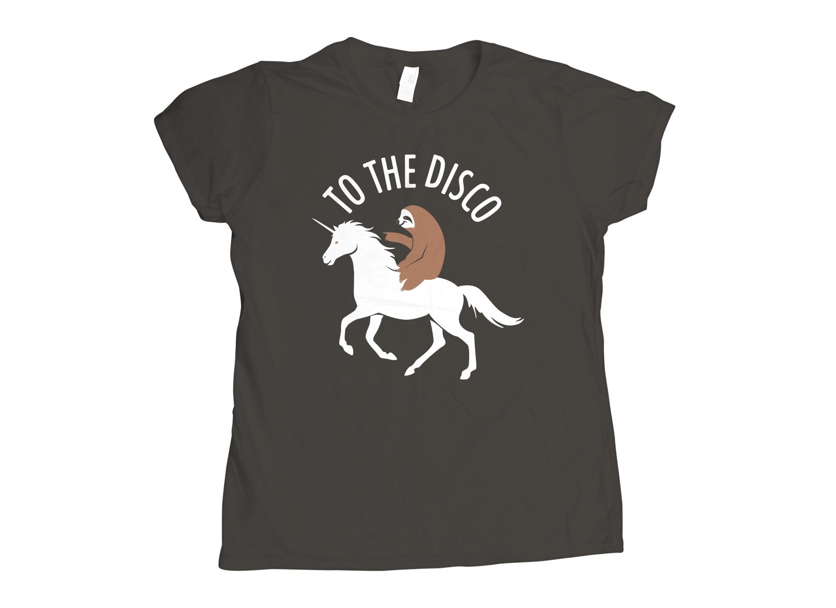 To The Disco on Womens T-Shirt