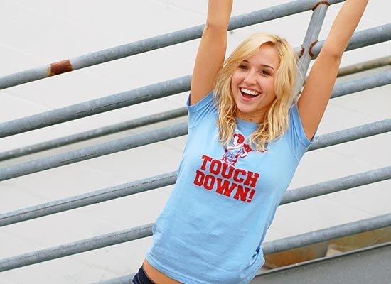 Touchdown! on Juniors T-Shirt