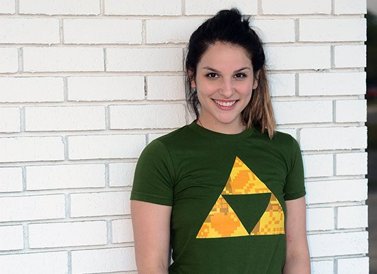 Triforce on Juniors T-Shirt