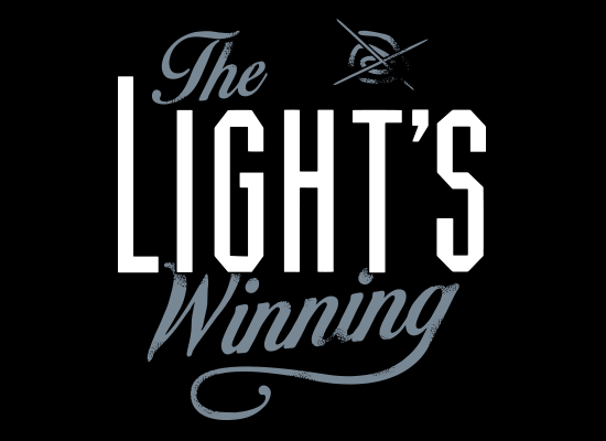 The Light's Winning on Mens T-Shirt
