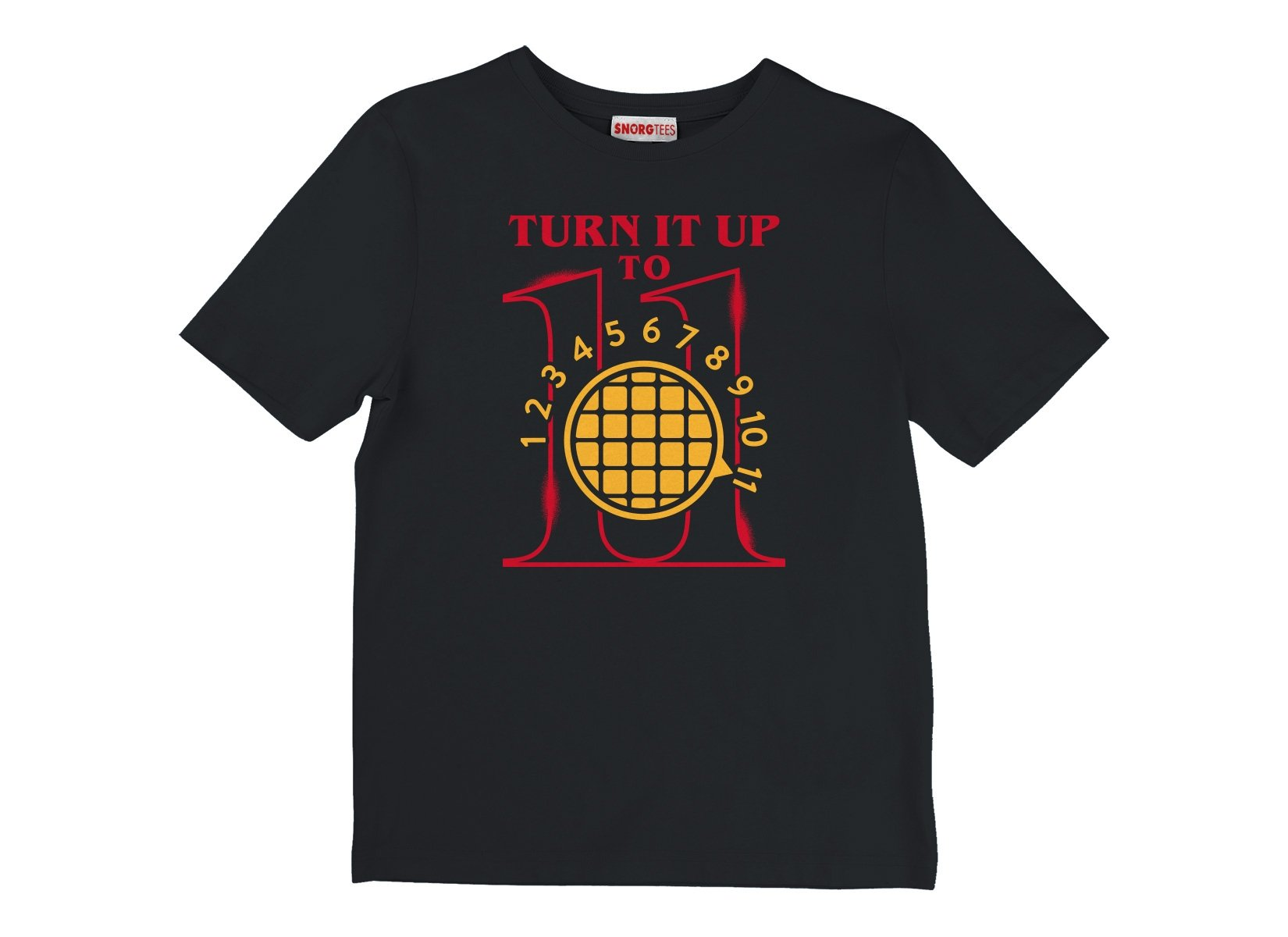 Turn It Up To 11 on Kids T-Shirt