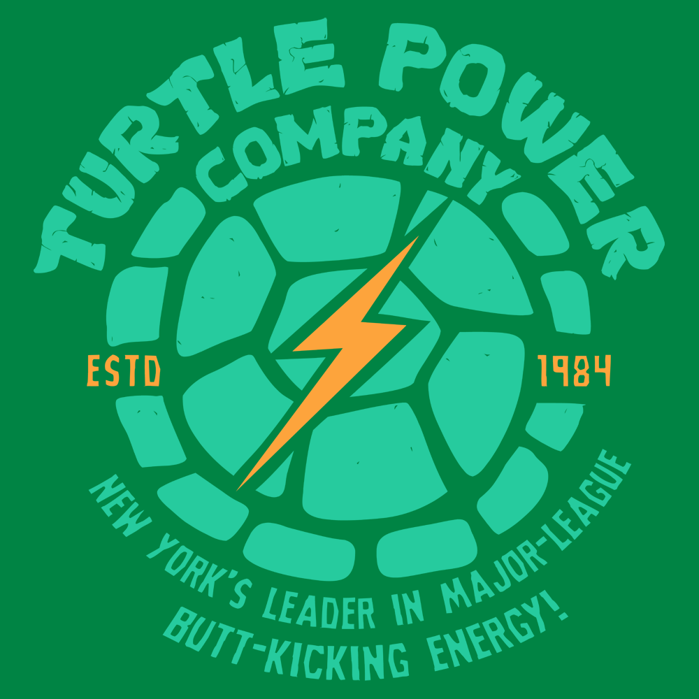 Turtle power company t shirt snorgtees turtle power company biocorpaavc