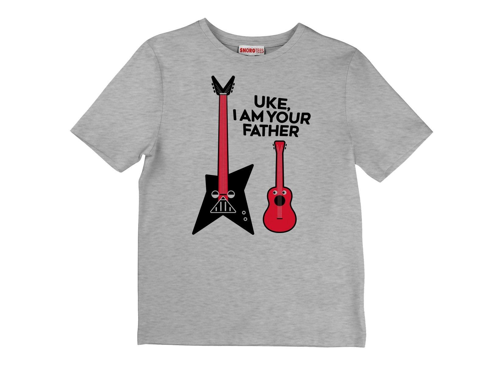Uke, I Am Your Father on Kids T-Shirt