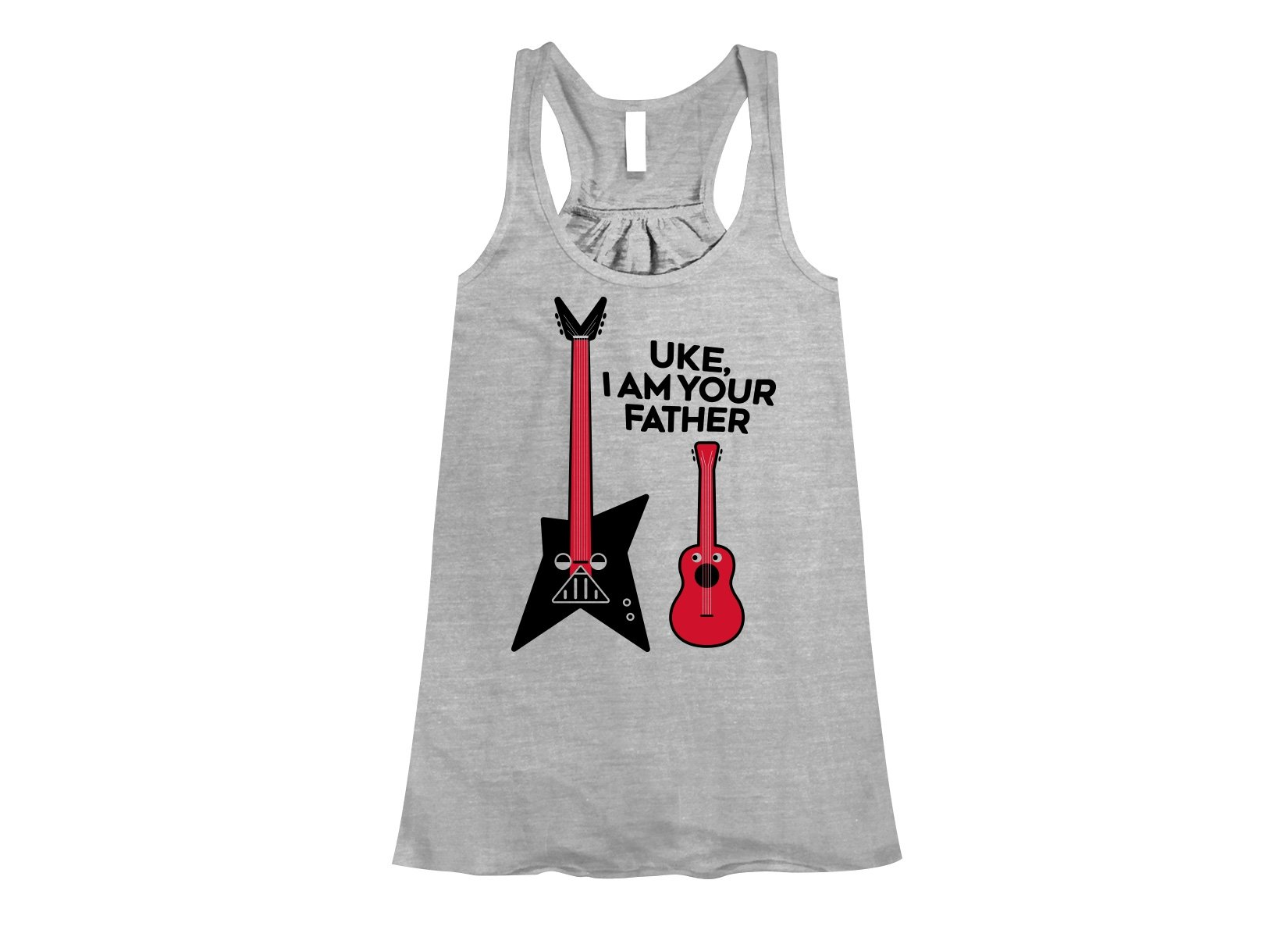 Uke, I Am Your Father on Womens Tanks T-Shirt