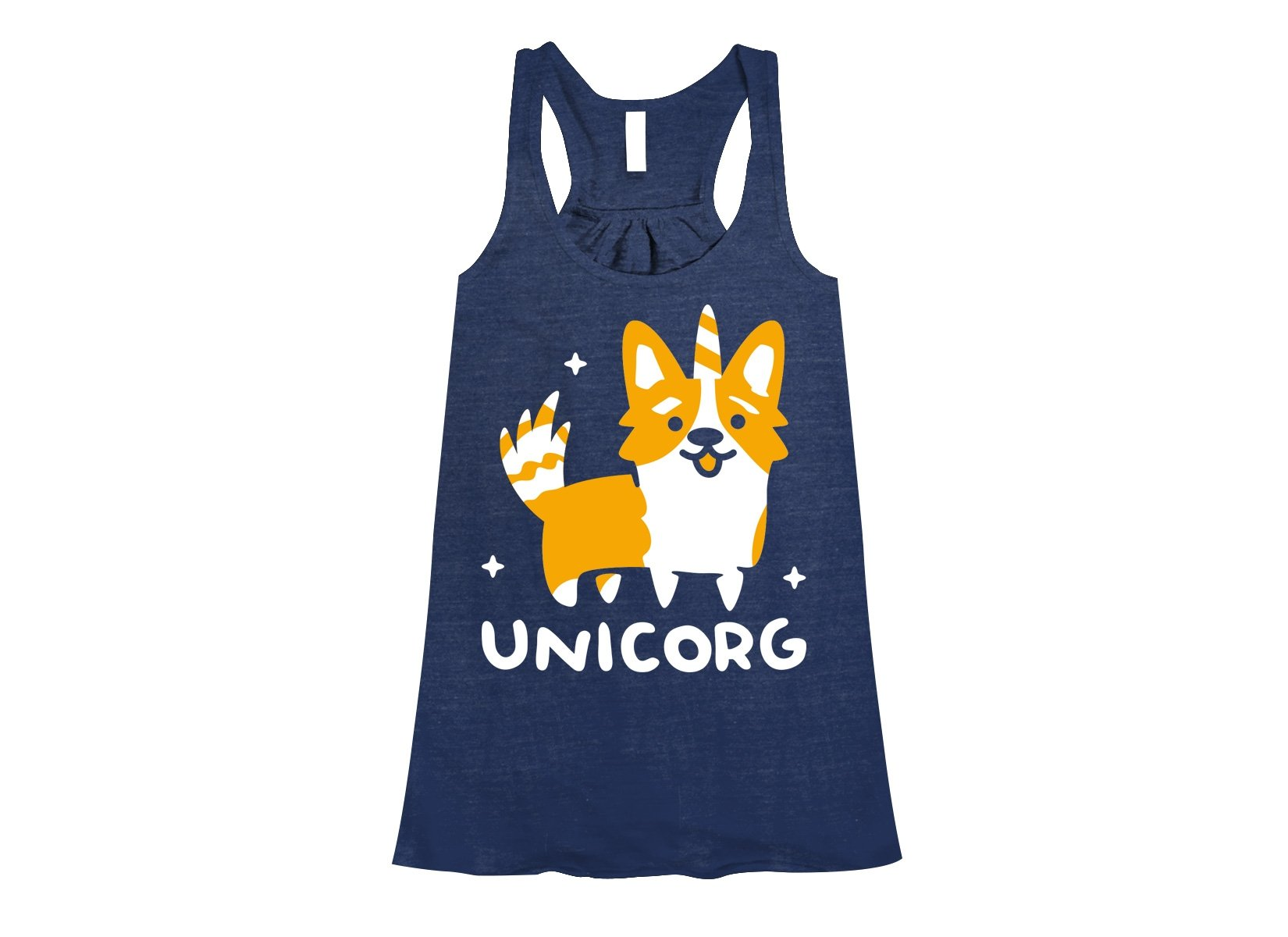 Unicorg on Womens Tanks T-Shirt