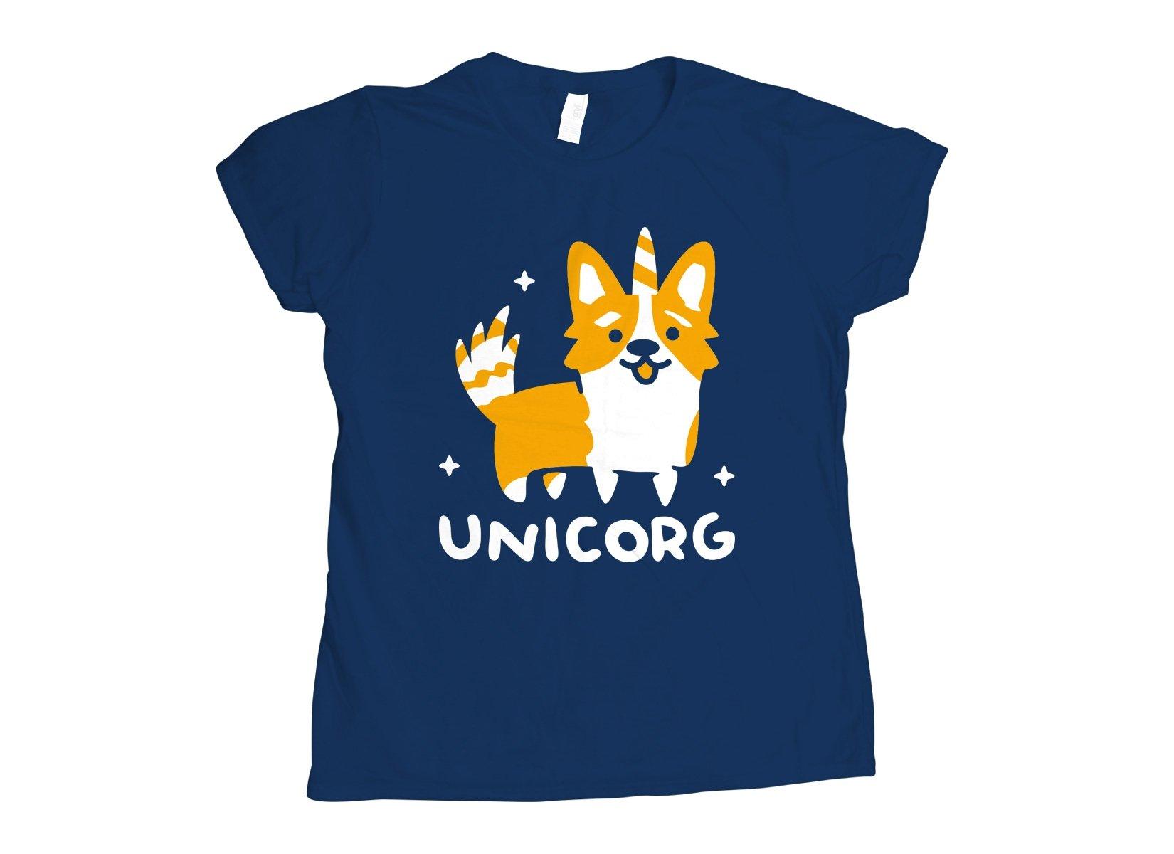 Unicorg on Womens T-Shirt