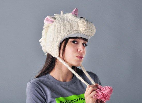 Unity The Unicorn Hat on Mens Hats