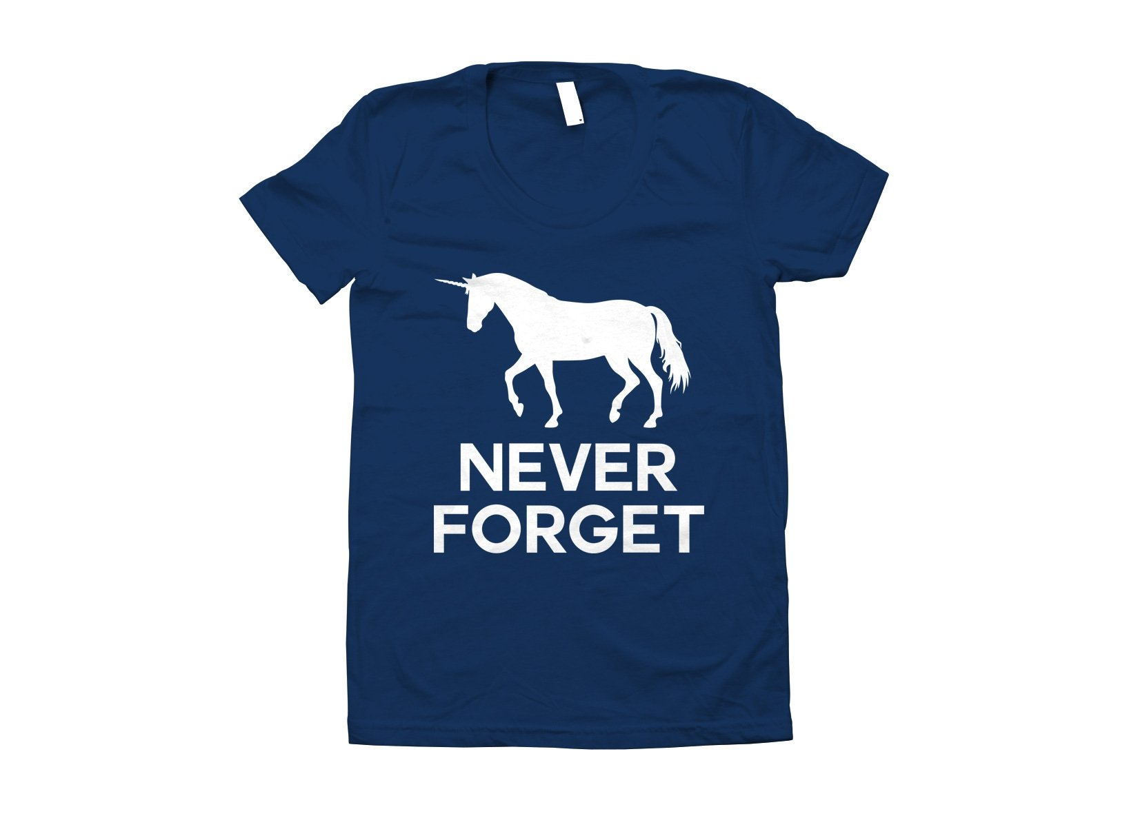 Unicorn Never Forget on Juniors T-Shirt