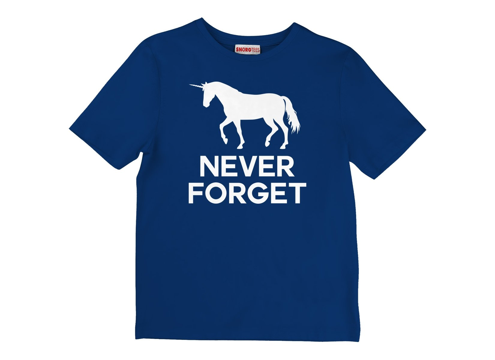 Unicorn Never Forget on Kids T-Shirt