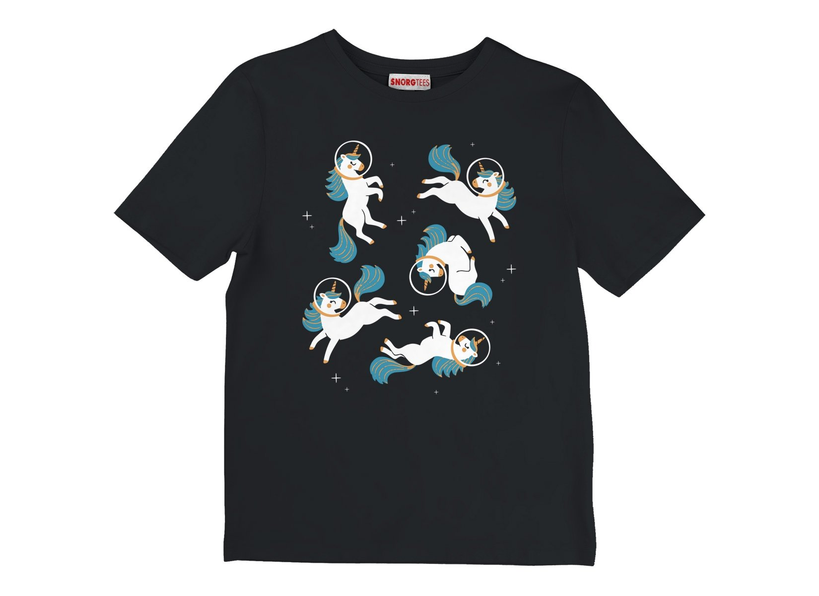 Unicorns In Space on Kids T-Shirt
