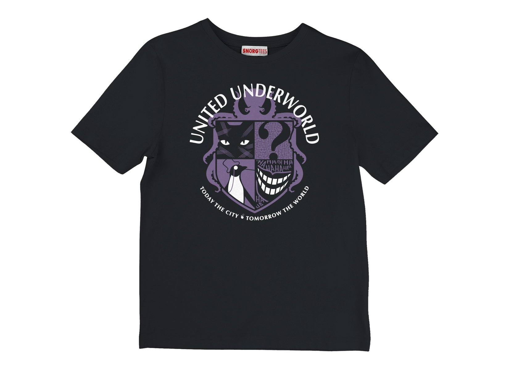 United Underworld on Kids T-Shirt