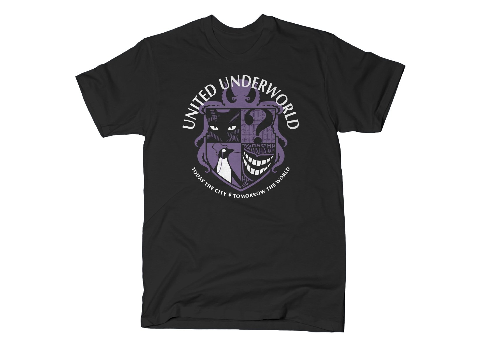 United Underworld on Mens T-Shirt