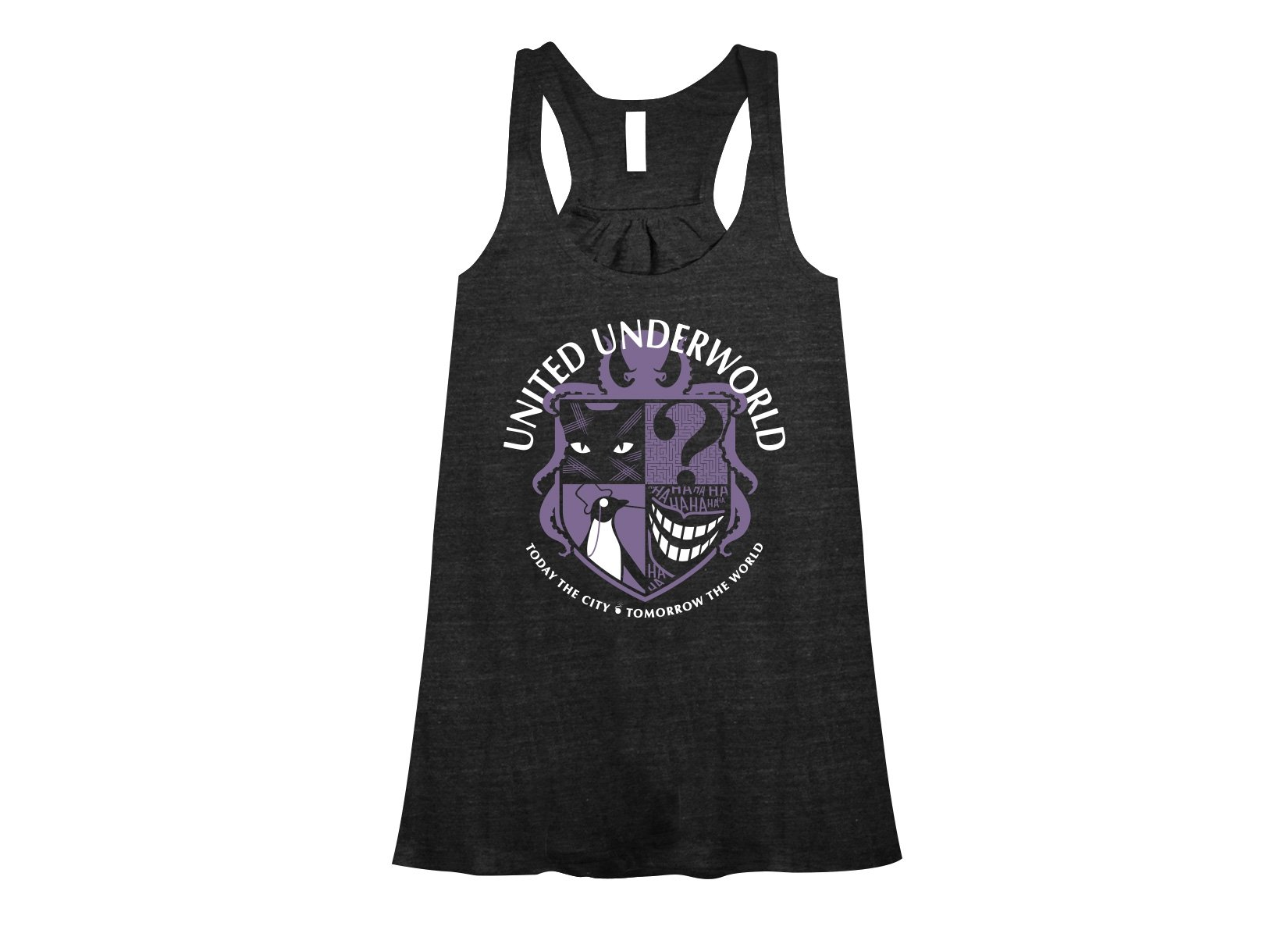 United Underworld on Womens Tanks T-Shirt