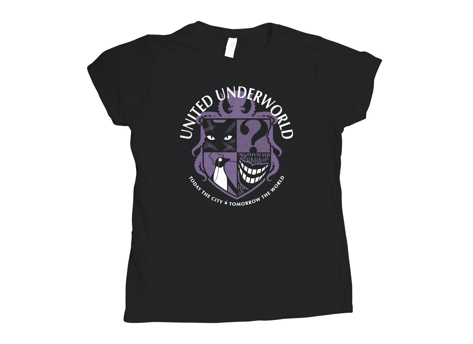 United Underworld on Womens T-Shirt