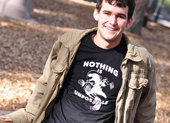 Nothing Is Unpossible on Mens T-Shirt