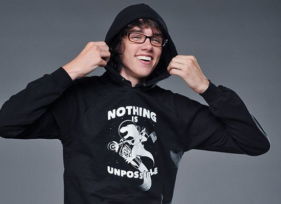 Nothing Is Unpossible on Hoodie