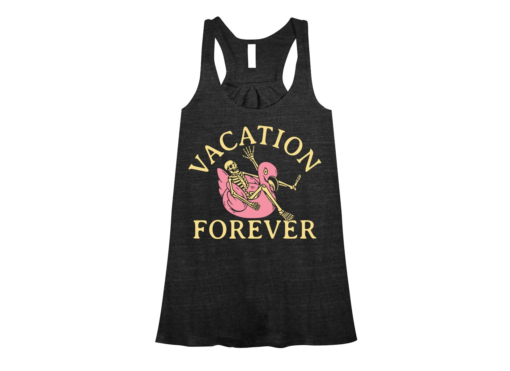 Vacation Forever on Womens Tanks T-Shirt