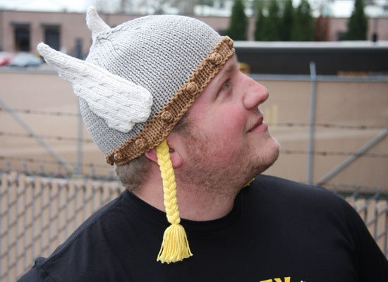 Valkyrie Hat on Mens Hats