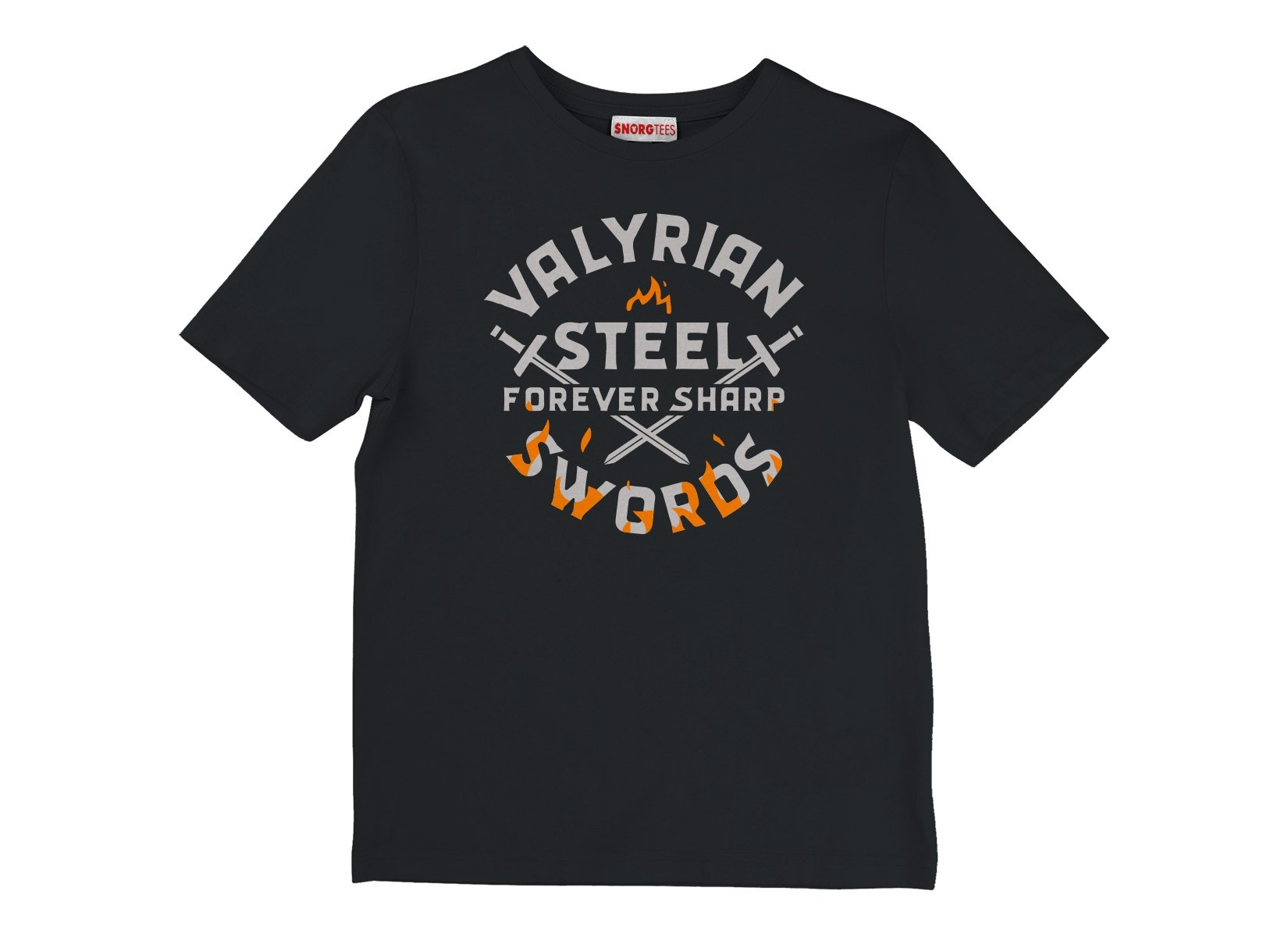 Valyrian Steel Swords on Kids T-Shirt
