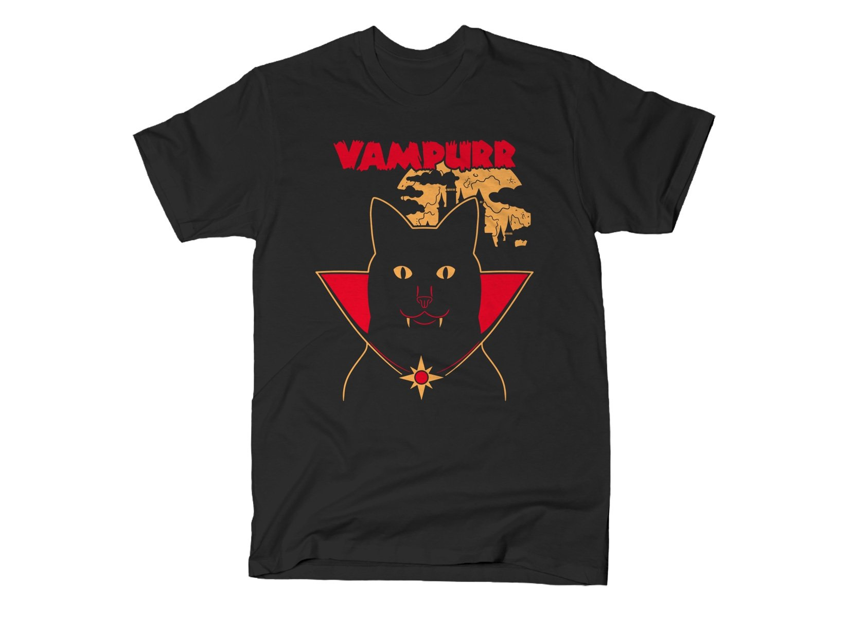 Vampurr on Mens T-Shirt