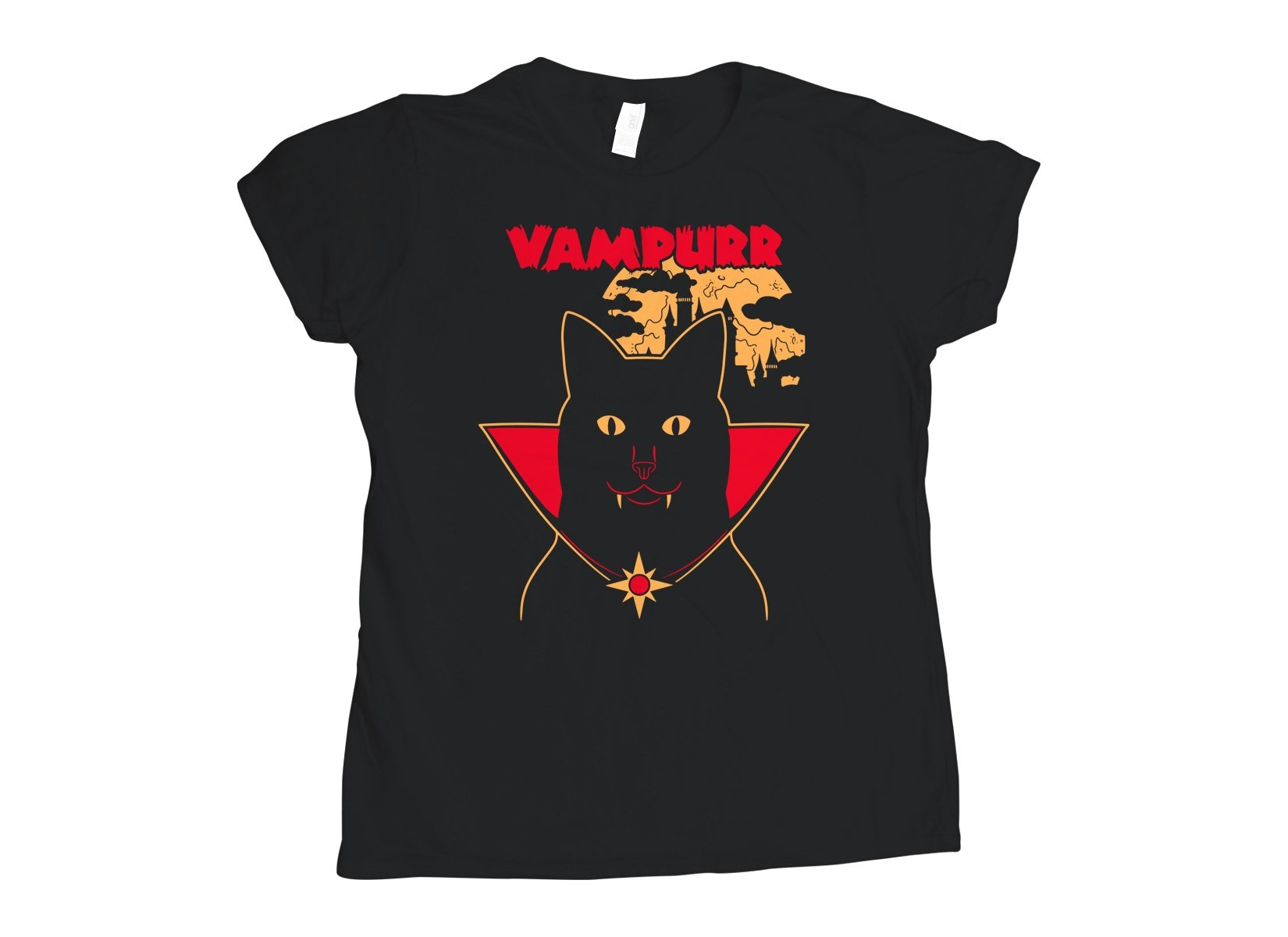 Vampurr on Womens T-Shirt