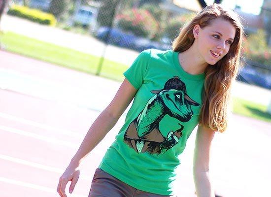 Velociholmes on Juniors T-Shirt