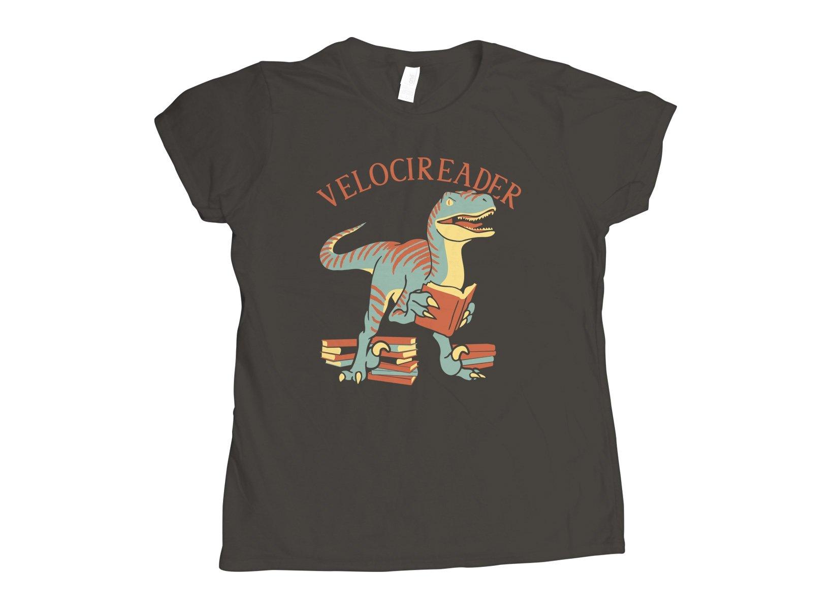 Velocireader on Womens T-Shirt