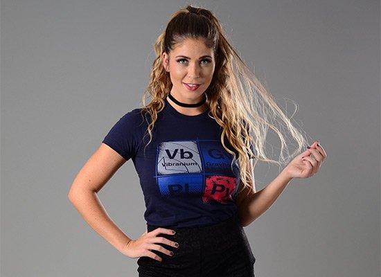Vibranium on Juniors T-Shirt