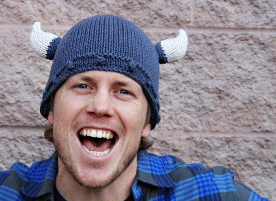 Viking Helmet on Mens Hats