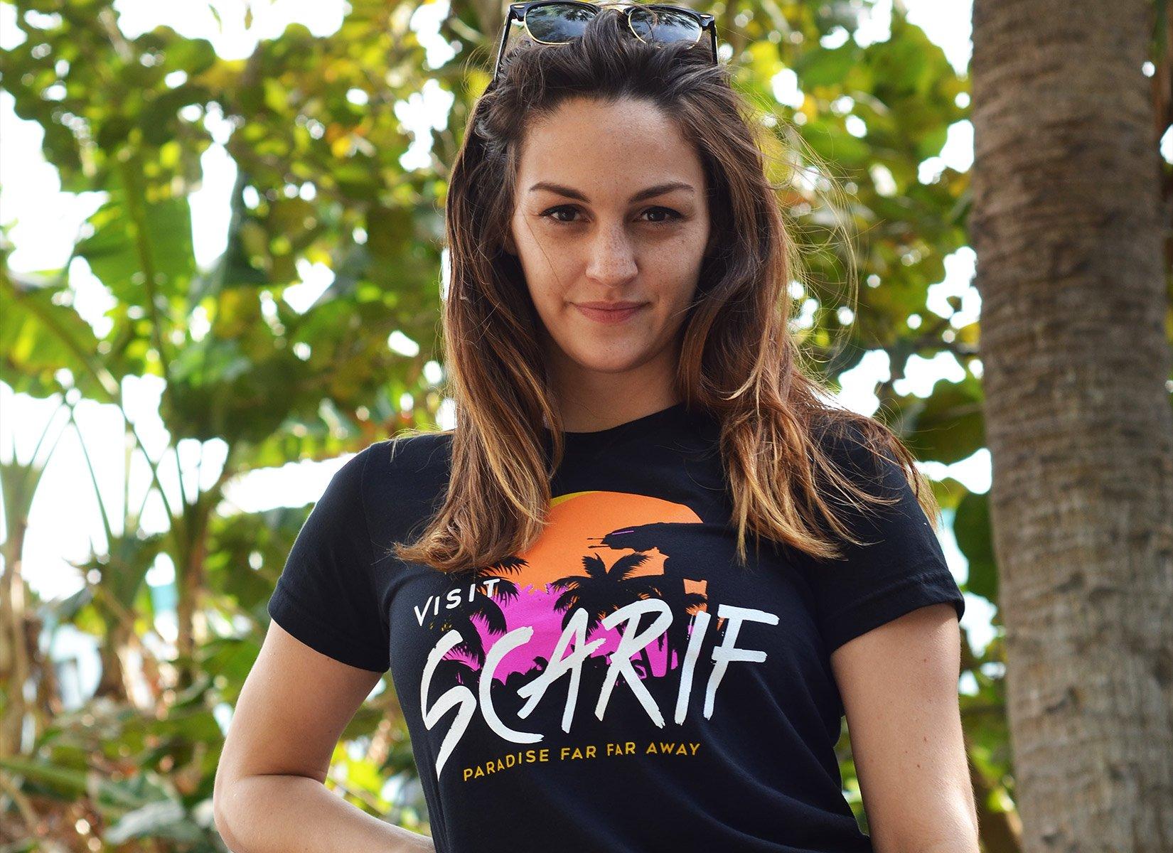 Visit Scarif on Juniors T-Shirt