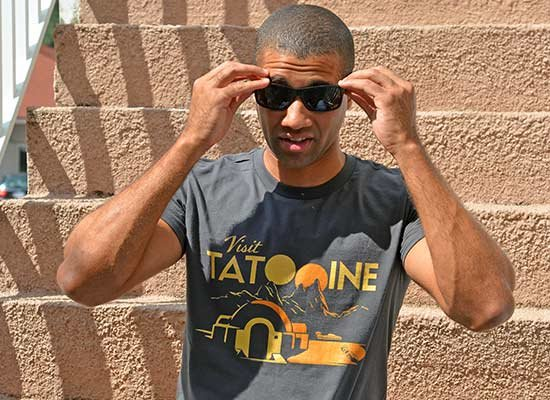 Visit Tatooine on Mens T-Shirt