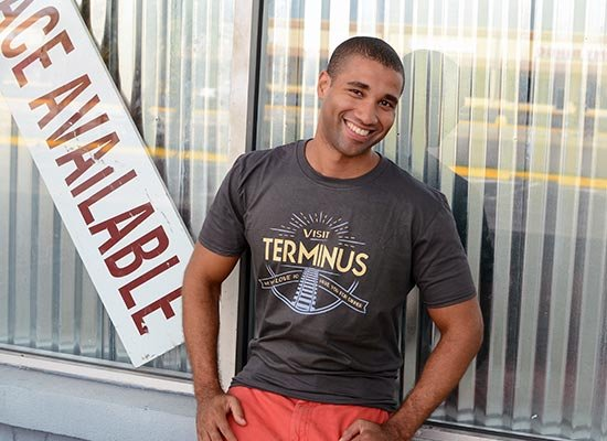 Visit Terminus on Mens T-Shirt
