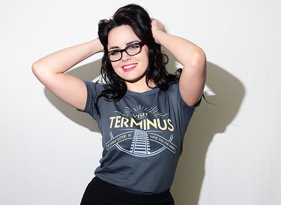 Visit Terminus on Juniors T-Shirt