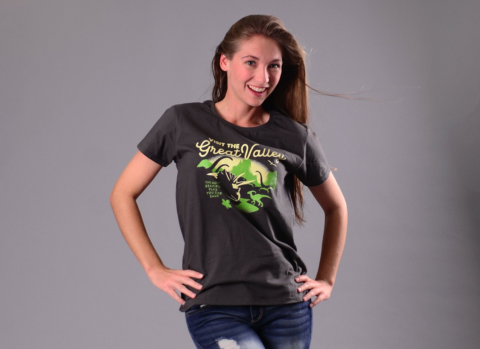 Visit The Great Valley on Womens T-Shirt