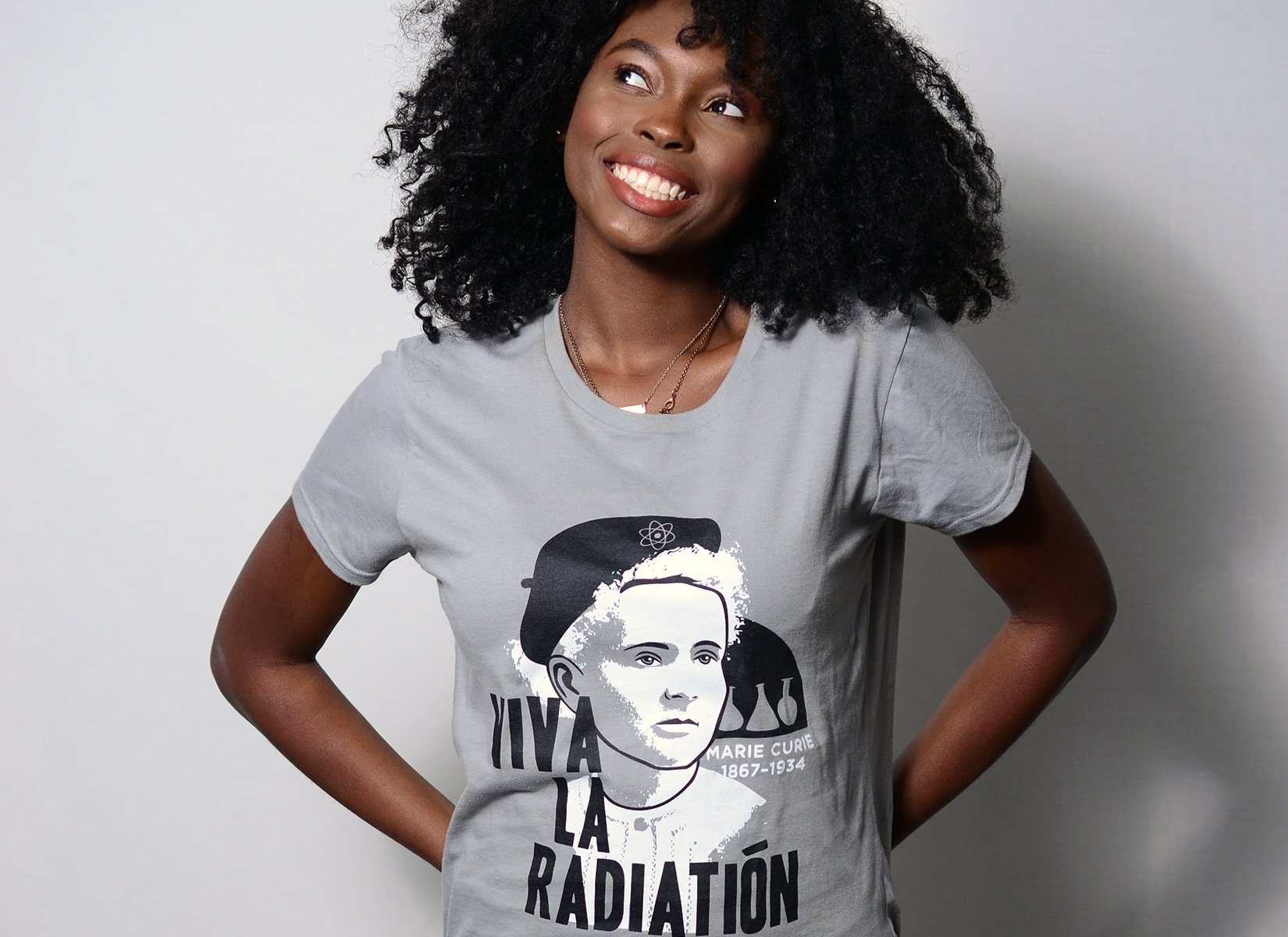Viva La Radiation on Womens T-Shirt