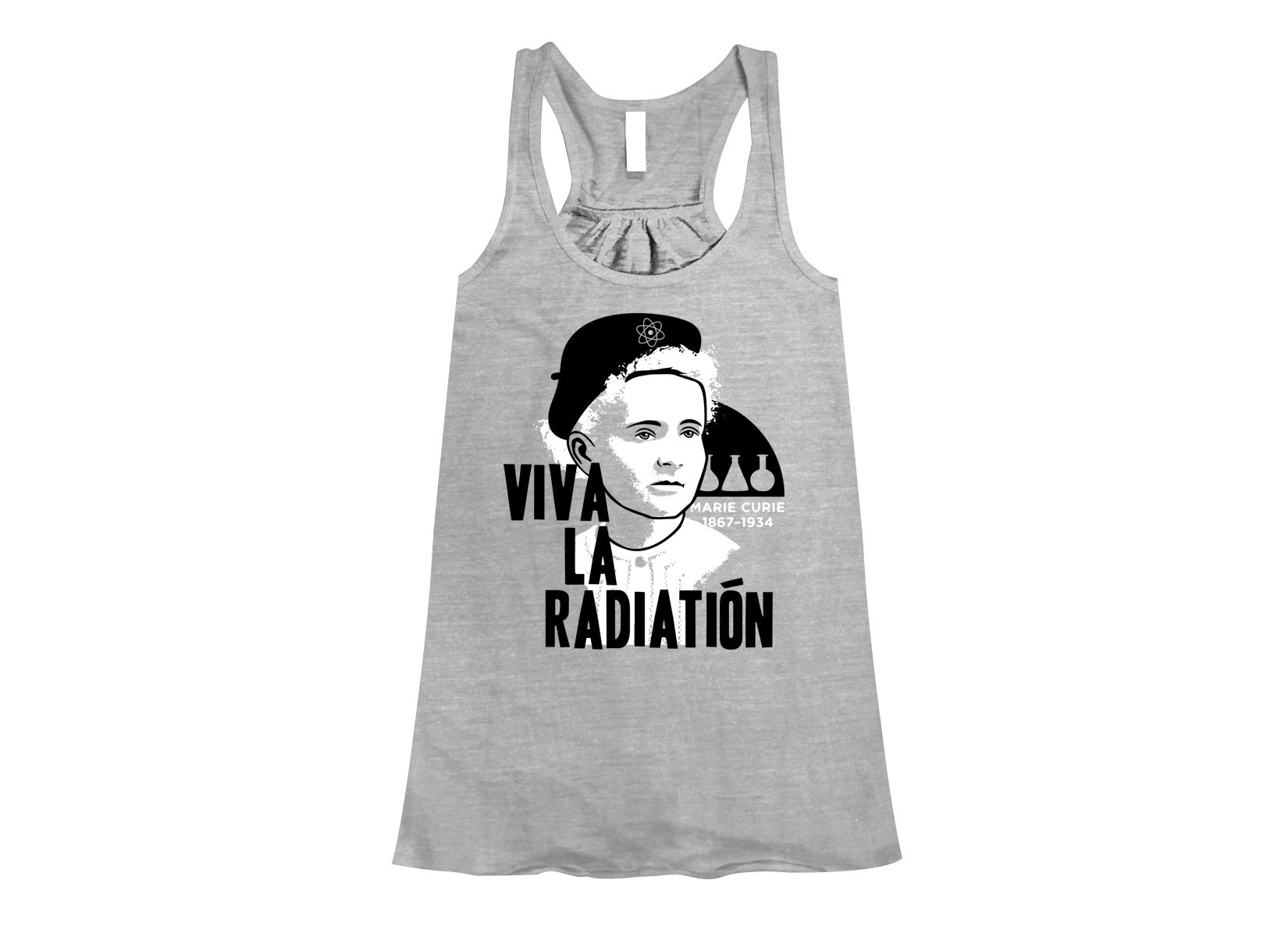 Viva La Radiation on Womens Tanks T-Shirt